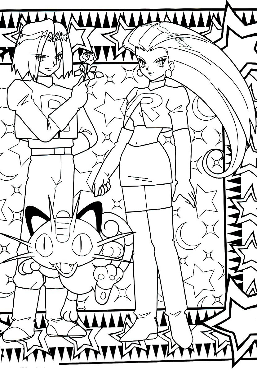 pokemon coloring pages minister coloring