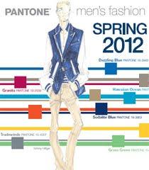 Цветове за Мъжка Мода Пролет 2012 на PANTONE