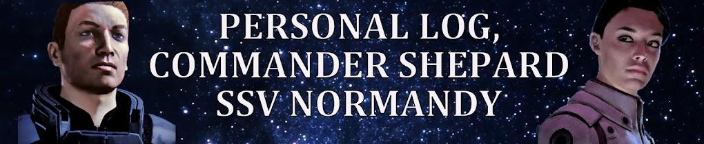 Personal Log Commander Shepard