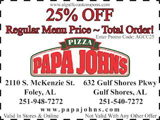 Papjohns coupon code