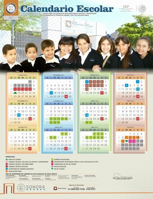 Calendario escola 14-15