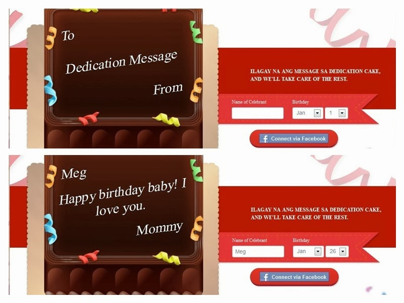Red Ribbon Dedication Cakes Birthday Budget Planner Mommy Irene