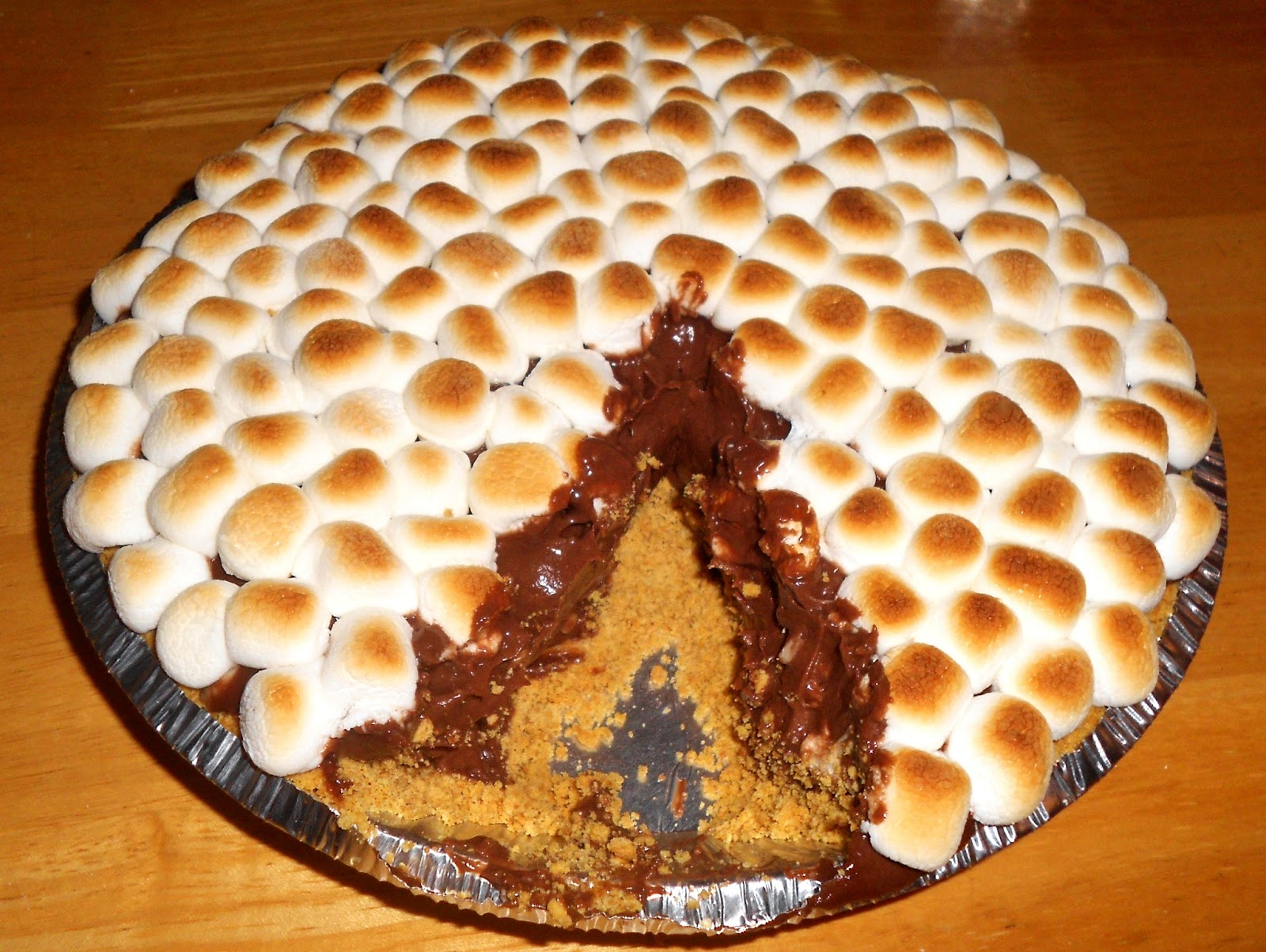 Princesses, Pies, & Preschool Pizzazz: Friday Pie-Day: S'more Pie