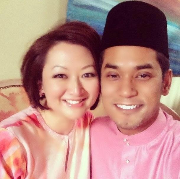 Gambar Aksi Sempoi YB Khairy Jamaluddin Bersama Anak
