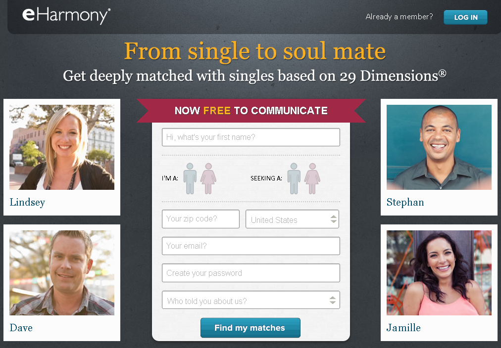Dating website no facebook