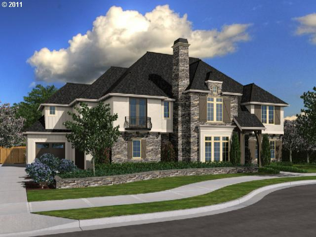 Arbor custom homes on bull mountain chateau marseille for Street of dreams homes