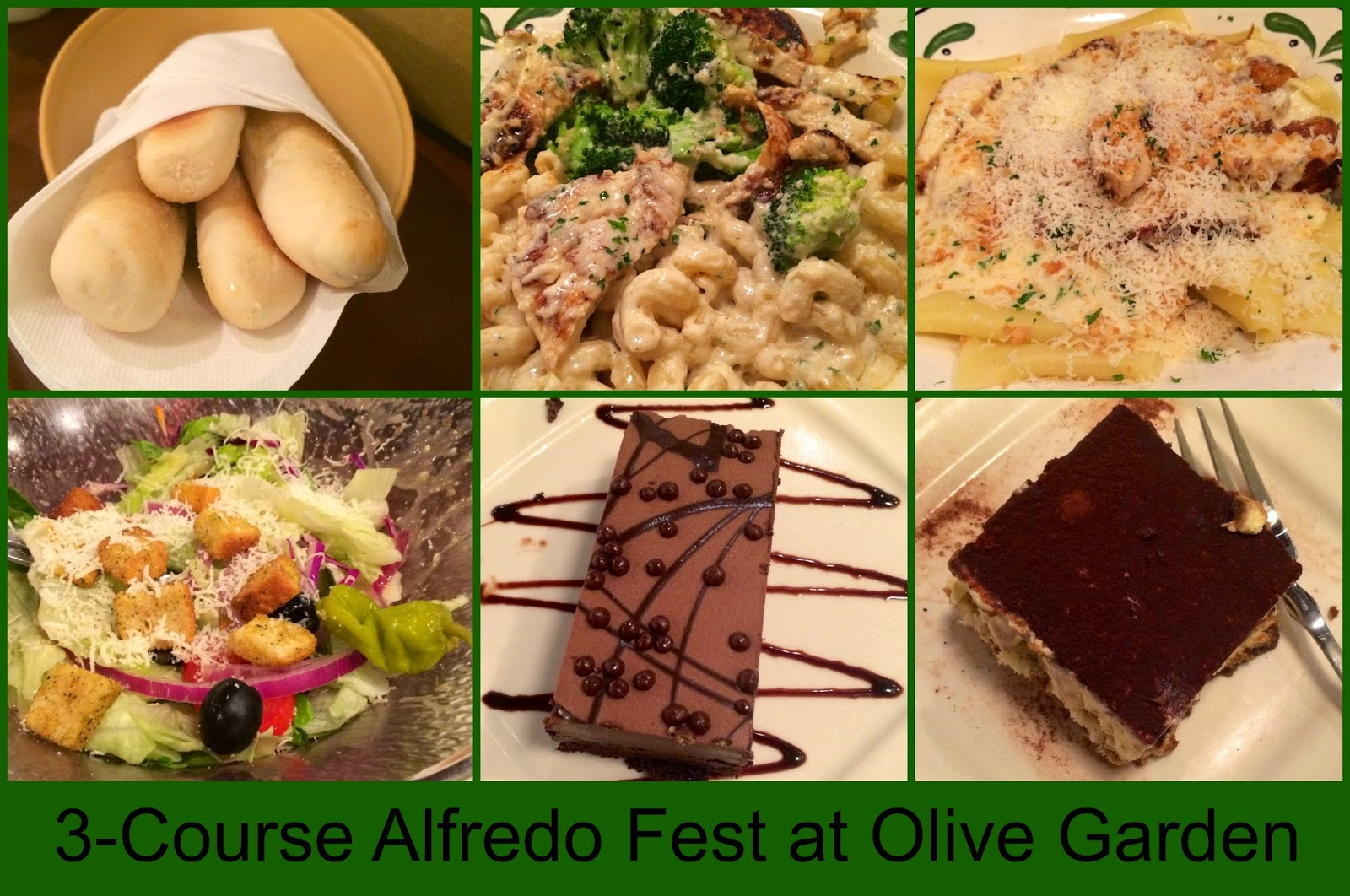 Stacy Tilton Reviews 3 Course Alfredo Fest At Olive Garden It 39 S Like Two Meals In One