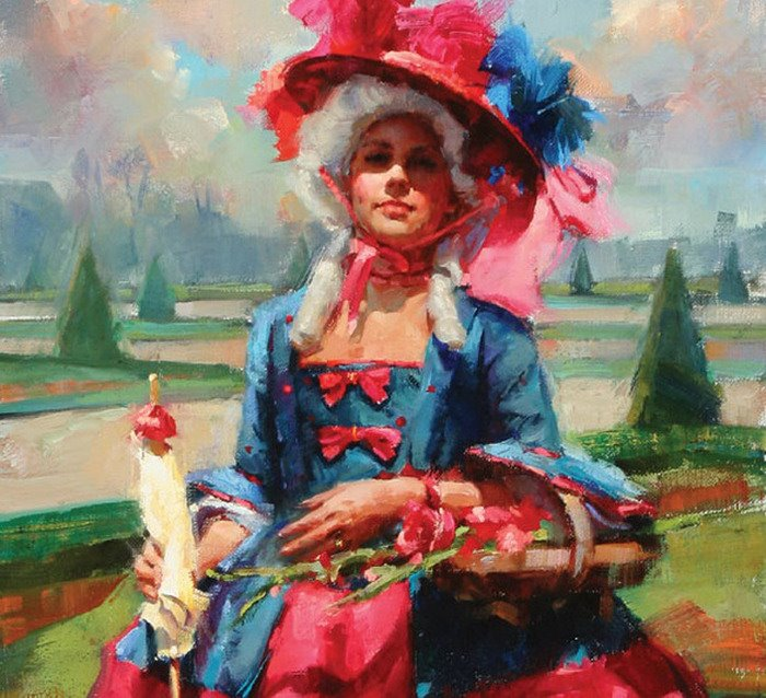 Meadow Gist | American Figurative painter and illustrator