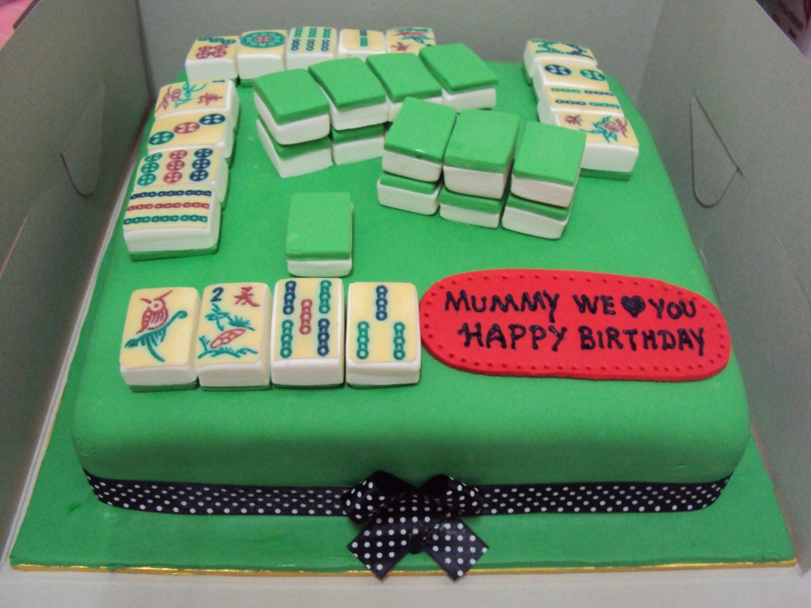 Lmis Cakes Cupcakes Ipoh Contact 012 5991233 Mahjong Fondant Cake
