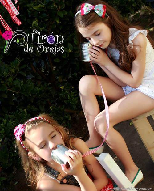 tiron de orejas coleccion 2014 accesorios nenas