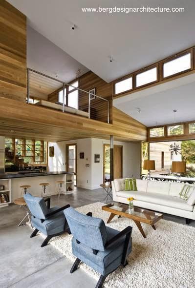 Arquitectura de casas casa granja moderna en estados unidos Casas americanas interior