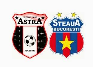 Astra Steaua Bucuresti etapa 26 Liga 1 live online 12 aprilie 2015
