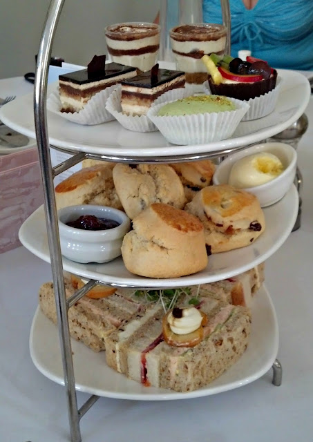 Typical English Afternoon Tea