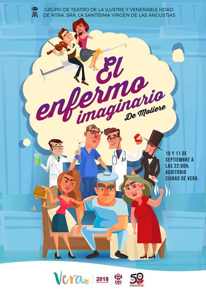 """NO TE PIERDAS """"EL ENFERMO IMAGINARIO"""" DE MOLIERE"""