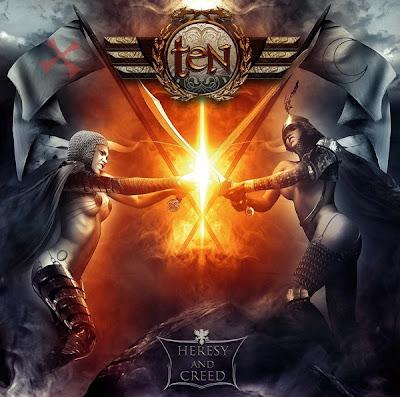 Ten album cover women with swords women swordfighting