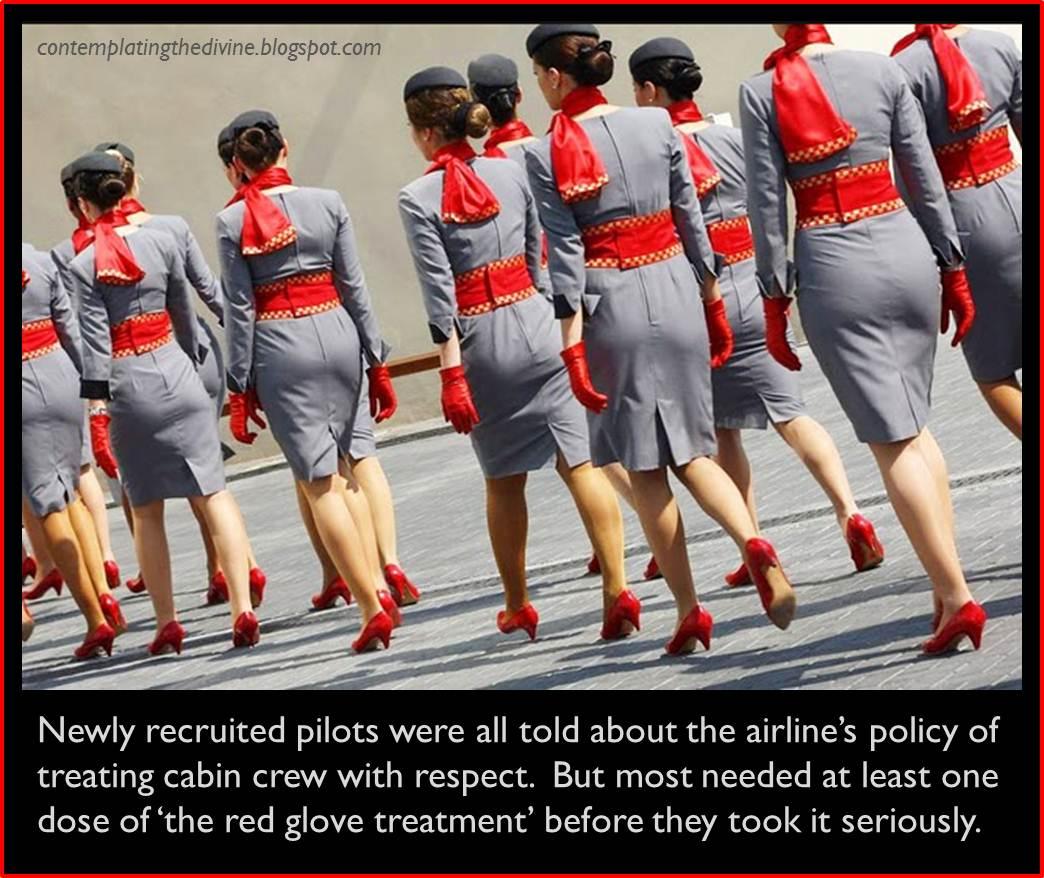 Stewardess femdom yum