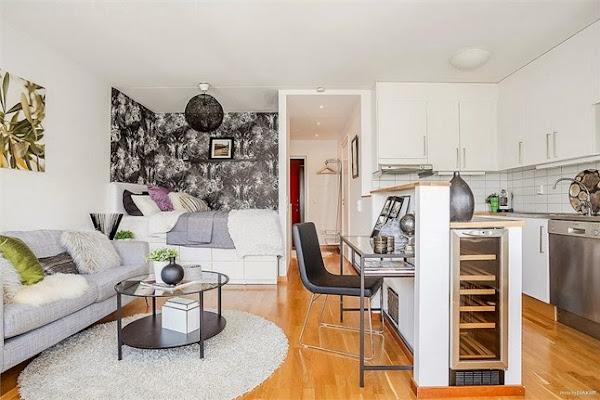 Apartamentos pequenos Decoracion de departamentos pequenos