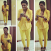 Annie Idibia Steps Out In A Lovely Yellow Suit