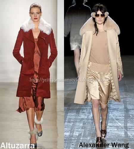 семпли палта с кожени яки