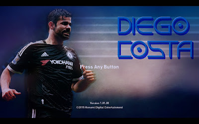 PES 2016 Diego Costa Startscreen by mEKc10