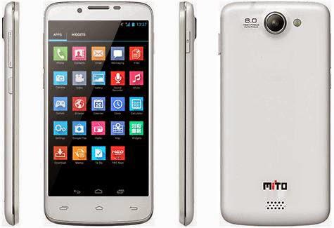 Harga HP Mito Fantasy A95 Spesifikasi Android 4.2 dan Quad Qore