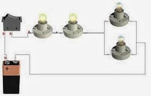 Circuito Serie : Factor eléctrico: circuitos electricos mixtos