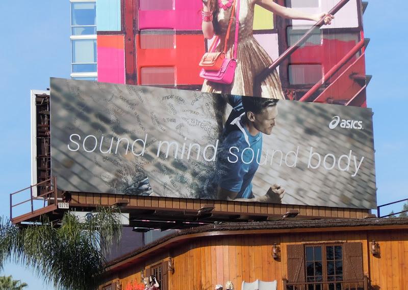 Sound mind sound body asics billboard