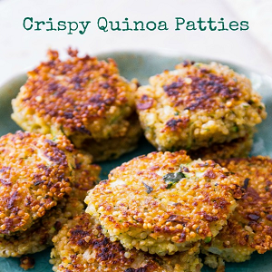 Crispy Quinoa Patties Recipe