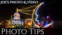 How To Photograph Christmas Lights | Photography Tips