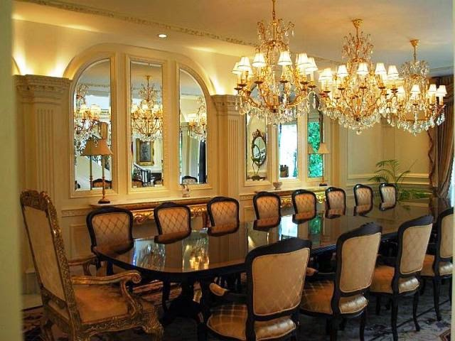 elegant large dining room