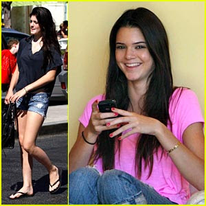 Kendall Jenner Sister on Kendall   Kylie Jenner  Baby Sisters Kim Kardashian