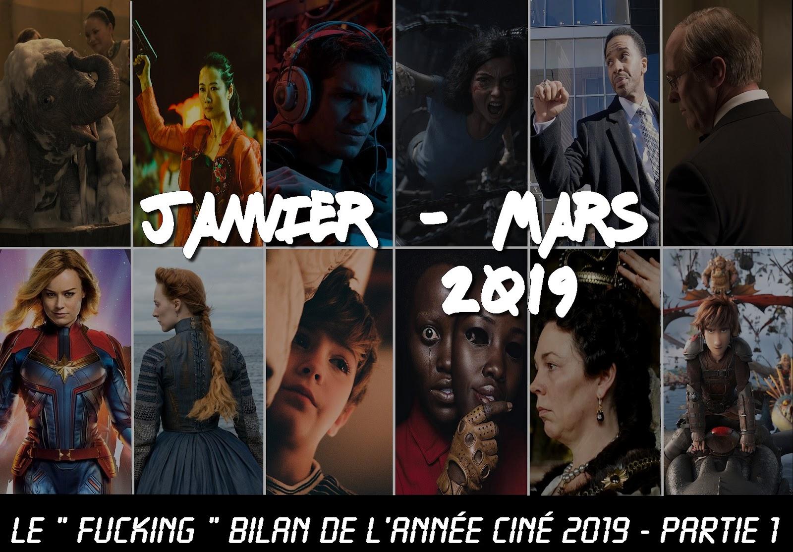 Bilan Ciné 2019 - Partie 1