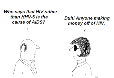 hhv-6, hiv, aids, cfs, chronic fatigue syndrome, fraud, gallo, montagnier, agut