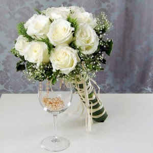 Perfect White Wedding Flowers