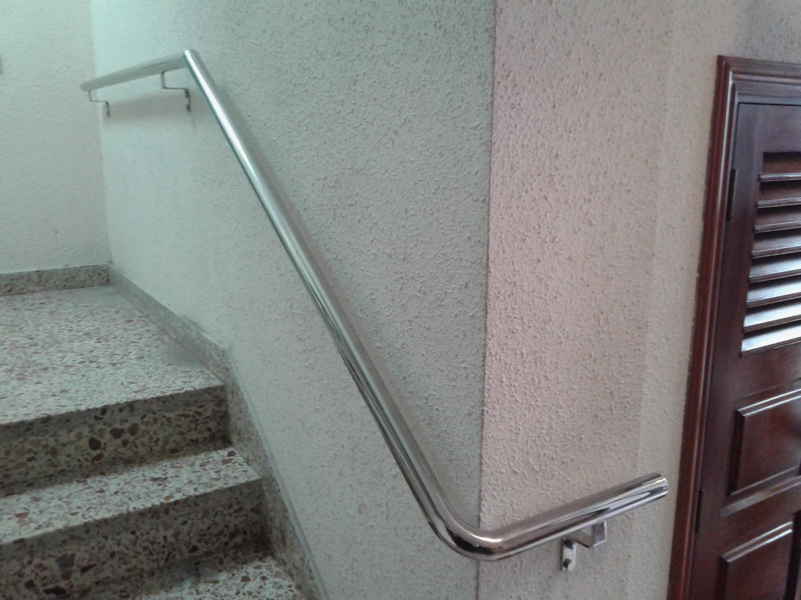 Acero inoxidable tenerife pasamanos para rampas y for Pasamanos de escaleras