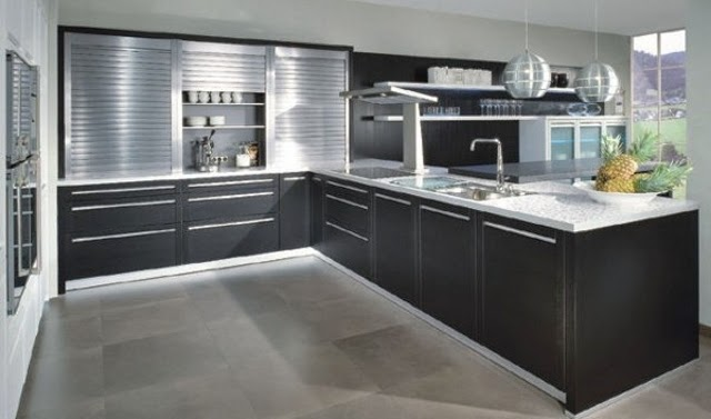 Great tips to create hightech kitchen style