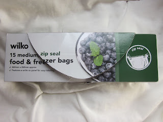 packet of plastic bags