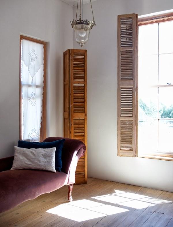 chaise longue terciopelo color lavanda