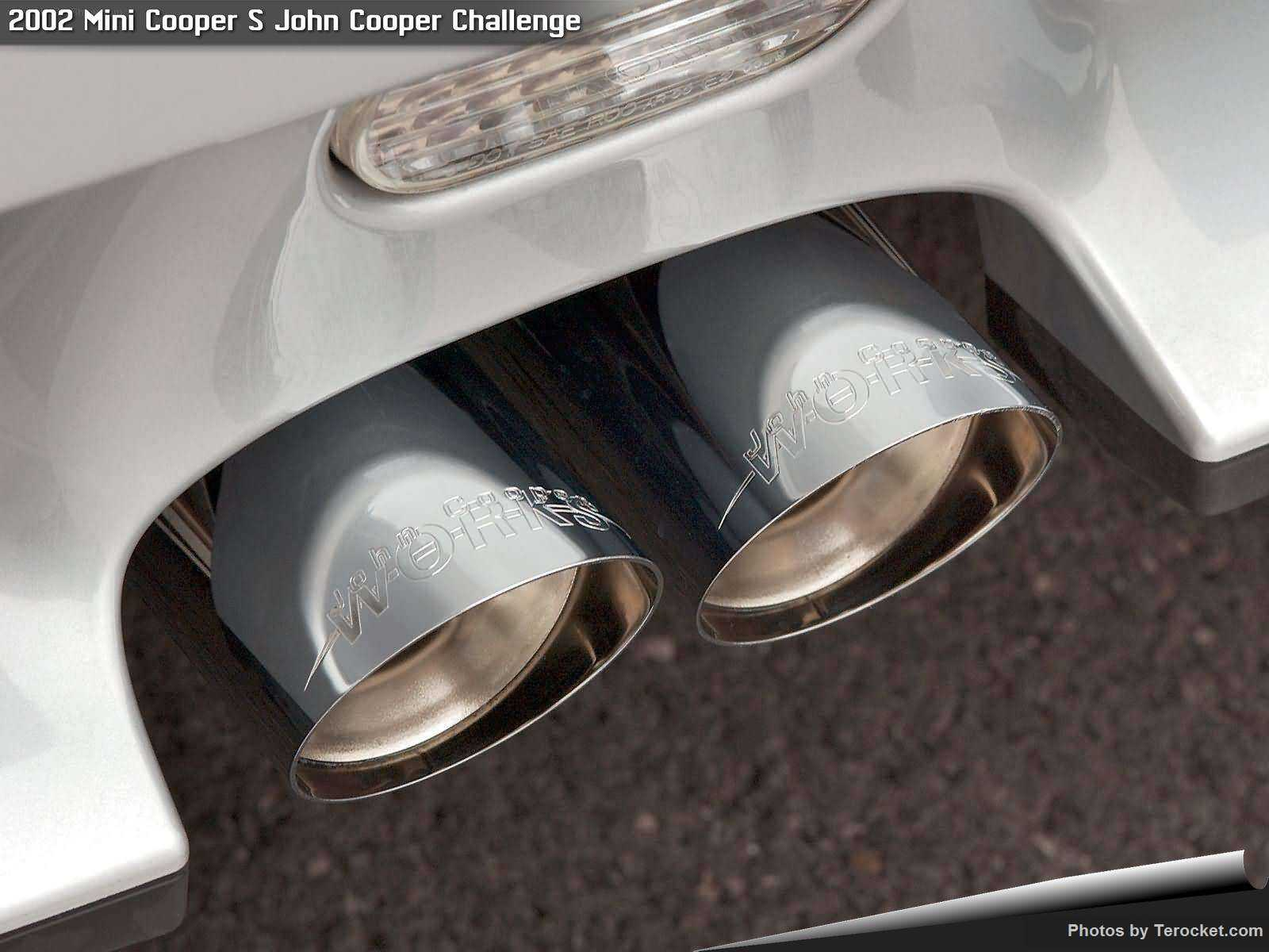 Hình ảnh xe ô tô Mini Cooper S John Cooper Challenge 2002 & nội ngoại thất