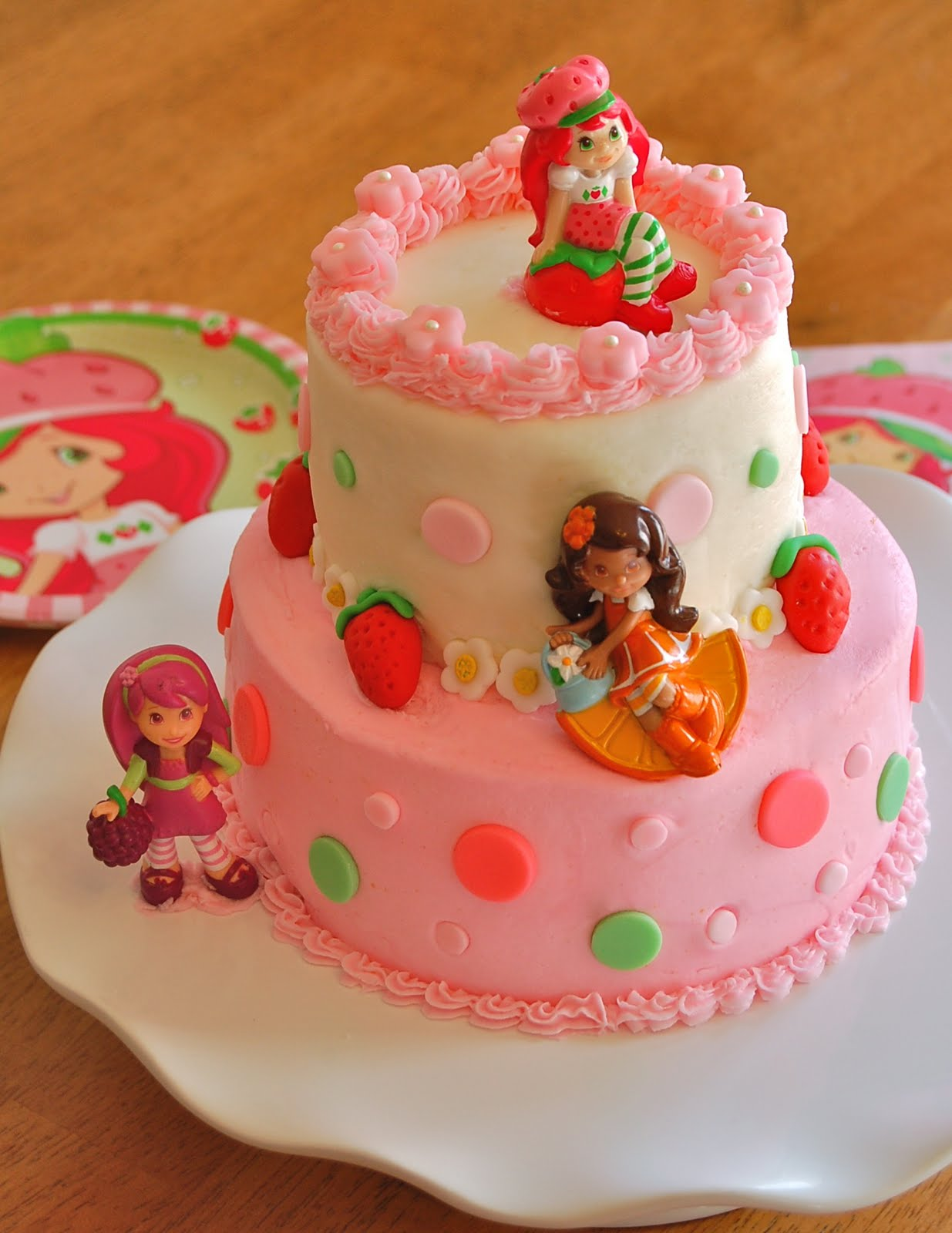 Chef Mommy: Strawberry Shortcake Cake