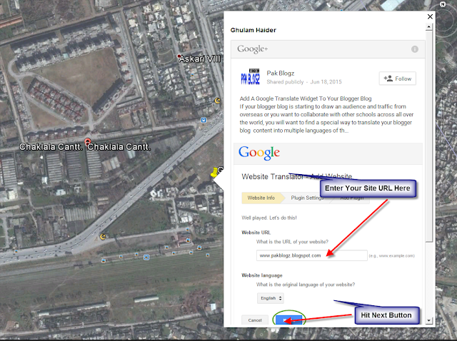 Now Embed Your Google + Posts In To Google Earth