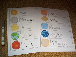 what are the colors of the planets in the telling order colors - photo #33