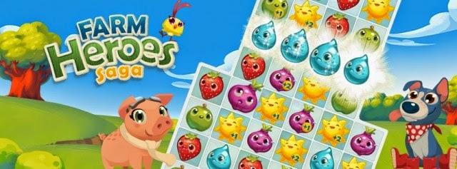 Farm Heroes Saga, juegos para niños gratis