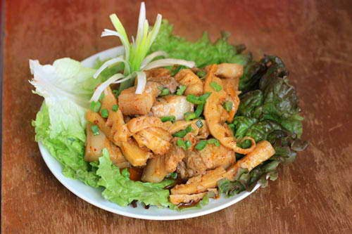 Braised Pork Meat with Bamboo Shoot - Thịt Ba Chỉ Kho Măng