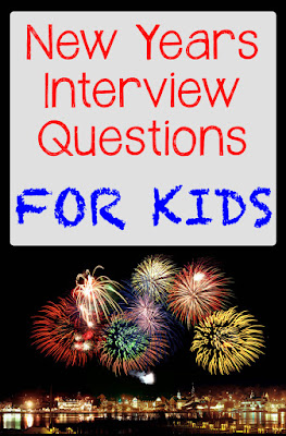 New Years Interview Questions for Kids