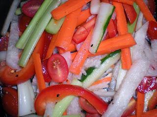 Lemon Pickled Vegetables