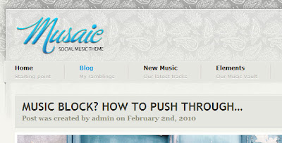 Musaic - Music WordPress Theme