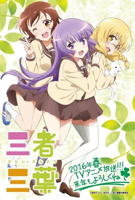 Para Seiyuu Dan Desain Karakter Untuk Anime 'Sansha Sanyo' Diperihatkan