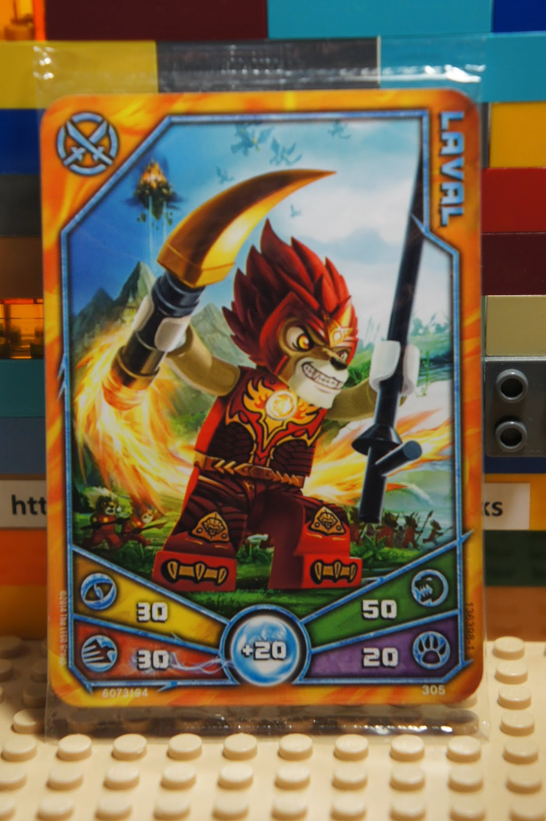 LEGO Legends of Chima LAVAL Lion Tribe TRADING CARDS ...