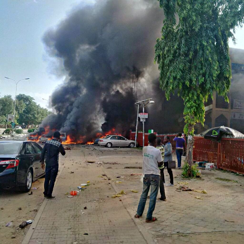 abuja shopping mall explosion
